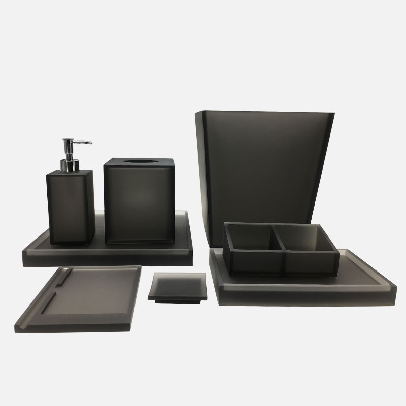 Xuying Bathroom Items black bathroom accessories wholesale for hotel-1