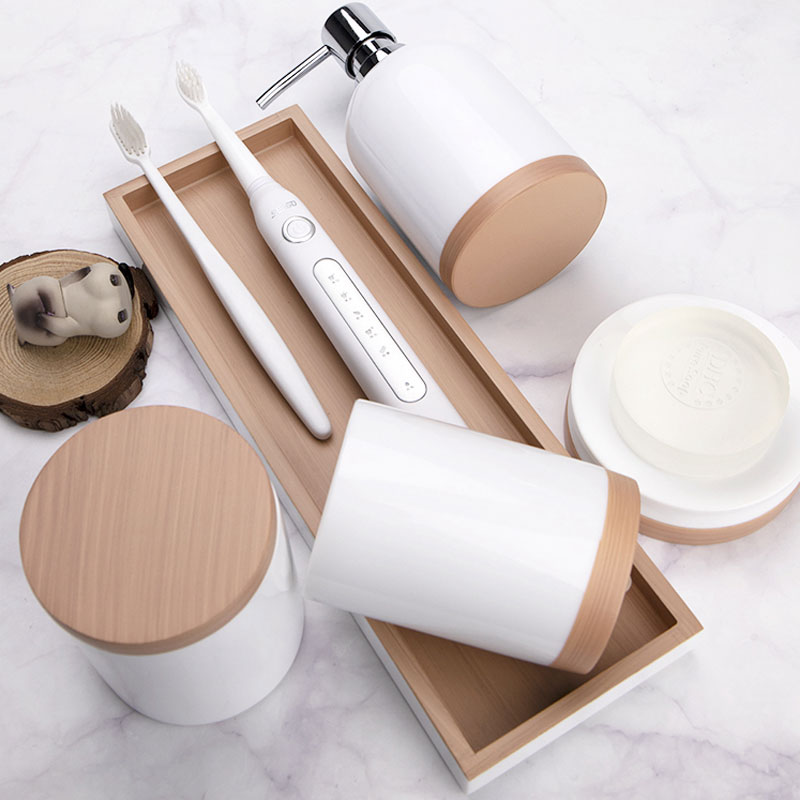 Xuying Bathroom Items modern white bathroom accessories set customized for bathroom-1
