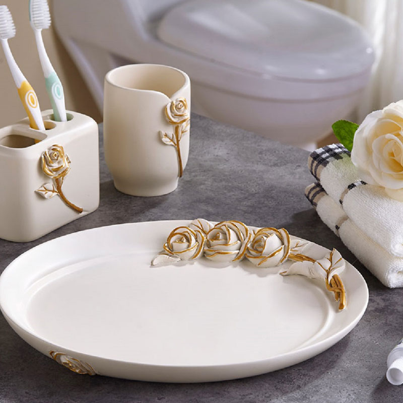 Xuying Bathroom Items elegant black and gold bathroom wholesale for bathroom-1