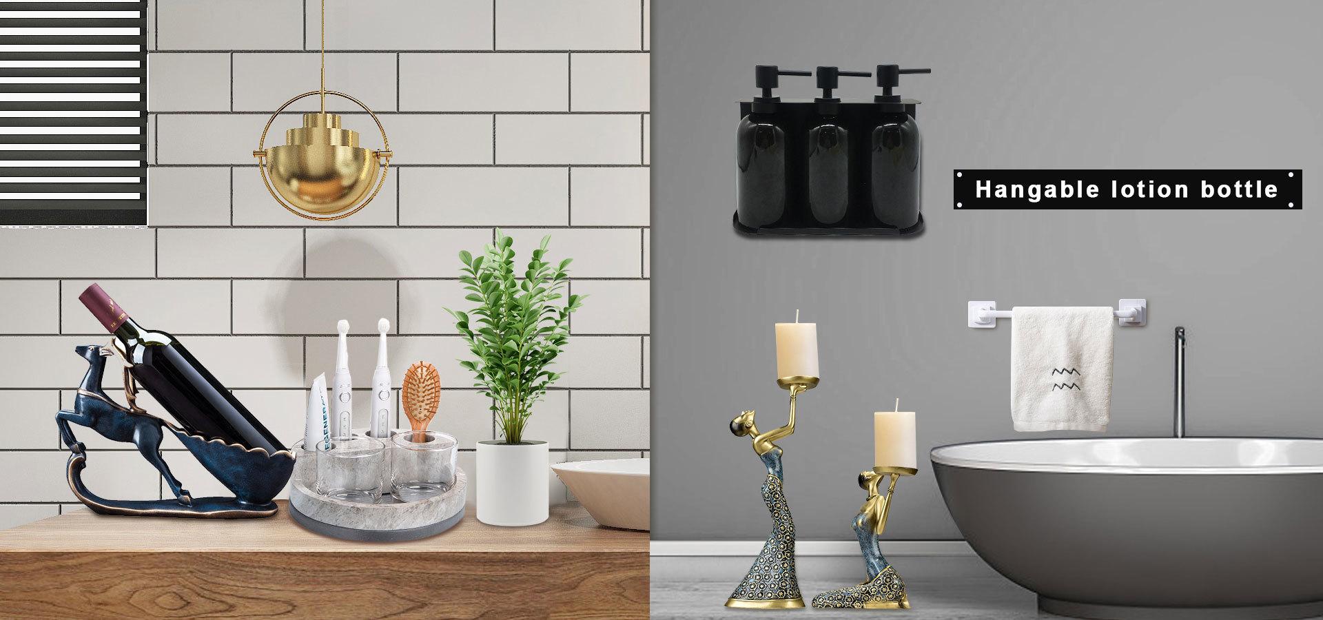European Elegant Bathroom Accessories