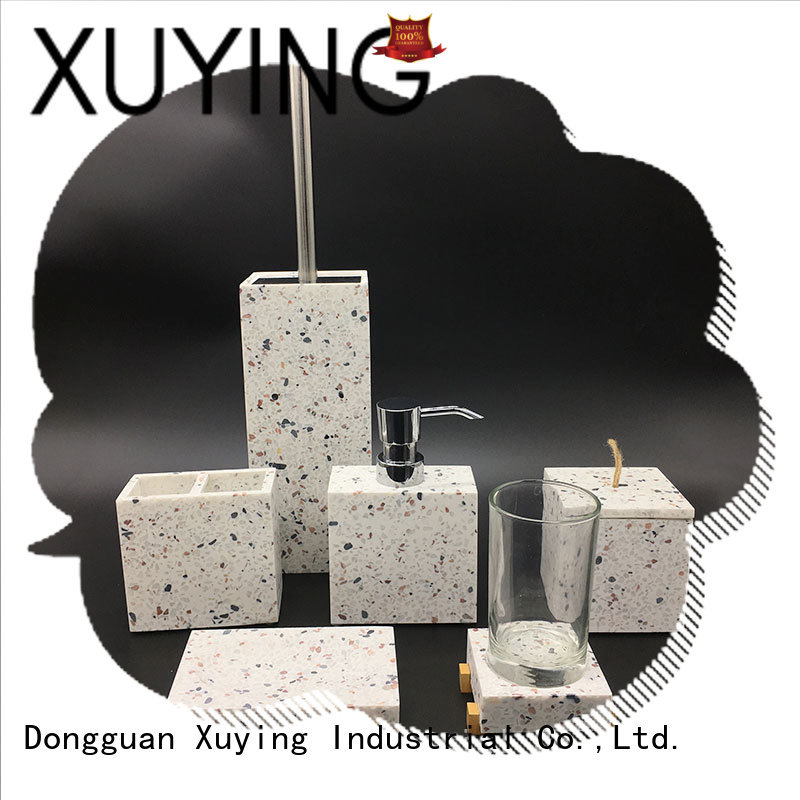 Xuying Bathroom Items gold bathroom accessories set manufacturer for bathroom
