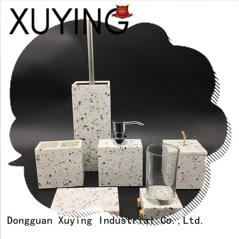 Xuying Bathroom Items elegant black bathroom accessories set on sale for bathroom