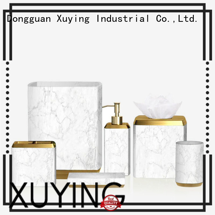 Xuying Bathroom Items white bathroom accessories set on sale for hotel