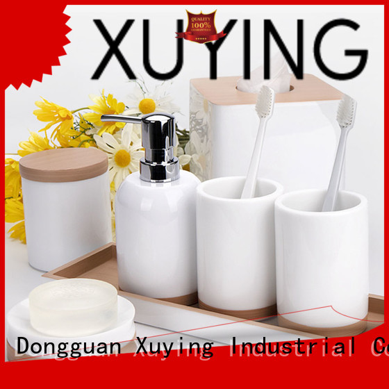 Xuying Bathroom Items modern black and white bathroom decor manufacturer for hotel