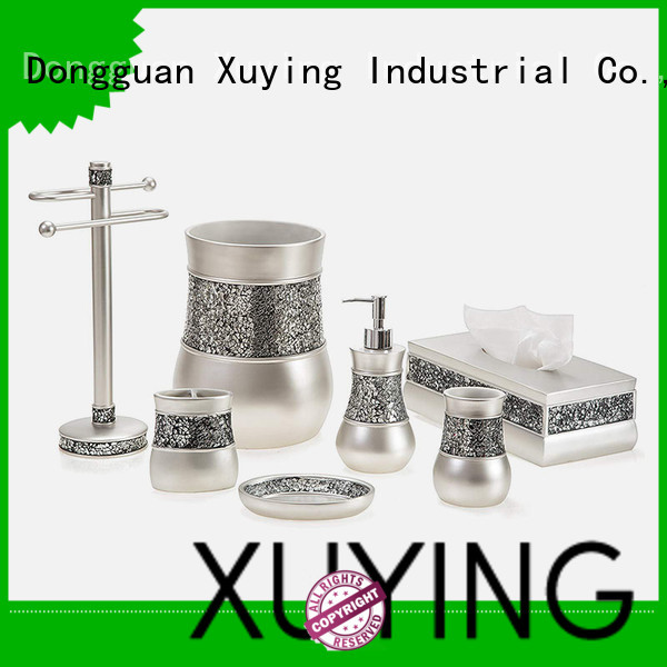 Xuying Bathroom Items elegant silver bathroom accessories wholesale for home