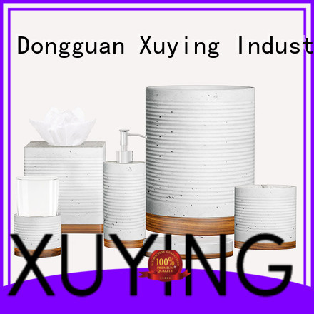 Xuying Bathroom Items black and white bathroom accessories customized for home