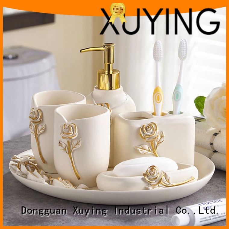 fashion gold bathroom accessories customized for home