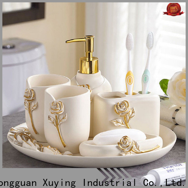 Xuying Bathroom Items black and white bathroom accessories manufacturer for hotel
