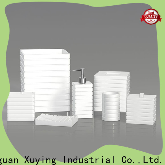 Xuying Bathroom Items gold bathroom accessories set manufacturer for restroom