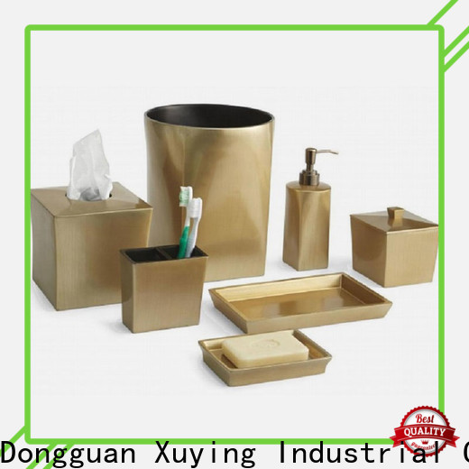 Xuying Bathroom Items modern black and white bathroom accessories on sale for restroom