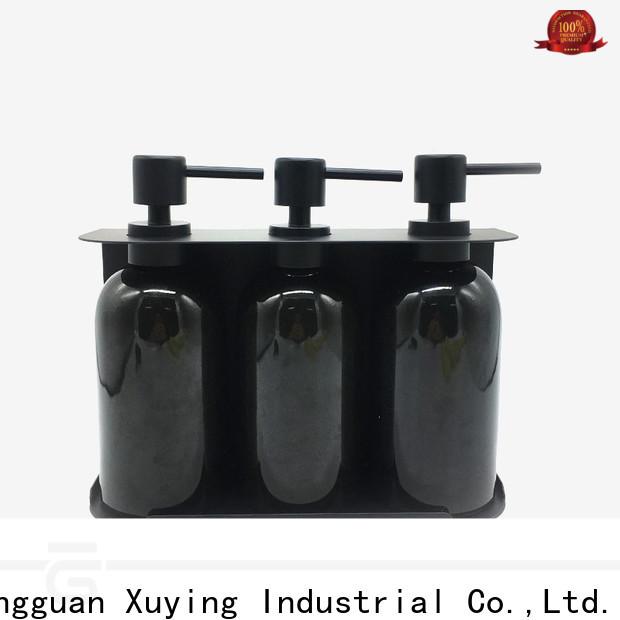 Xuying Bathroom Items elegant bathroom soap dispenser set factory price for home
