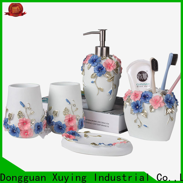 Xuying Bathroom Items durable black bathroom sets on sale for home