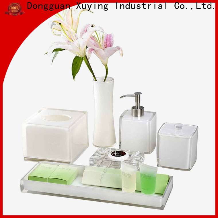 quality grey bathroom accessories factory price for hotel