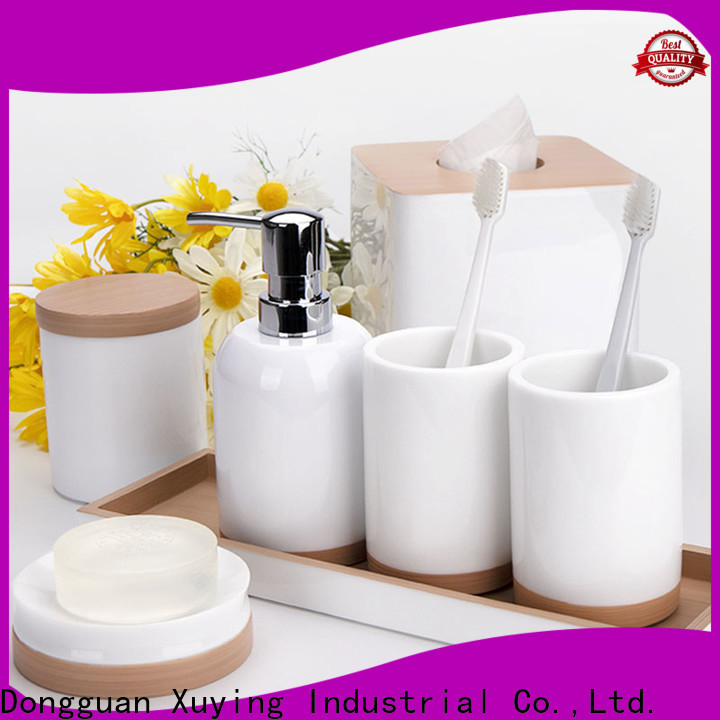 Xuying Bathroom Items matte black bathroom accessories design for bathroom