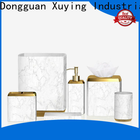 Xuying Bathroom Items durable white bathroom accessories set wholesale for home