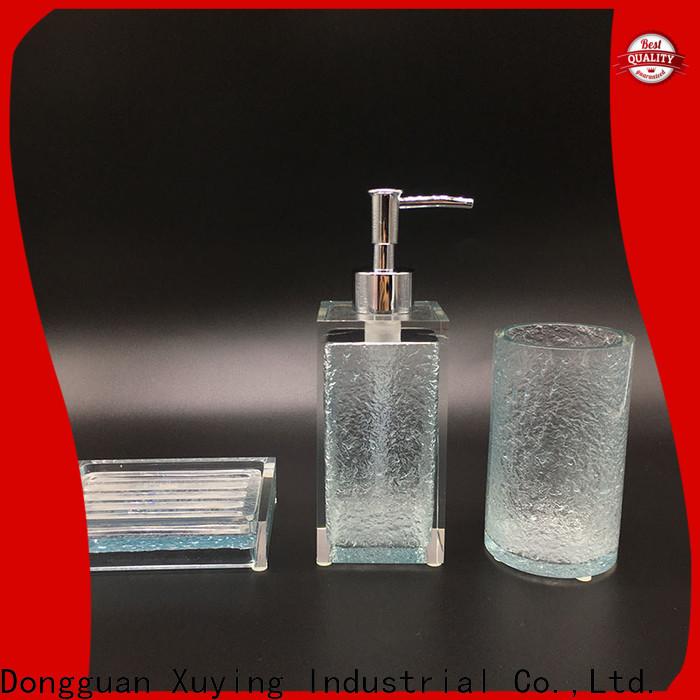 Xuying Bathroom Items practical gold bathroom accessories supplier for bathroom