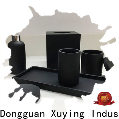 Xuying Bathroom Items black bathroom accessories set on sale for bathroom