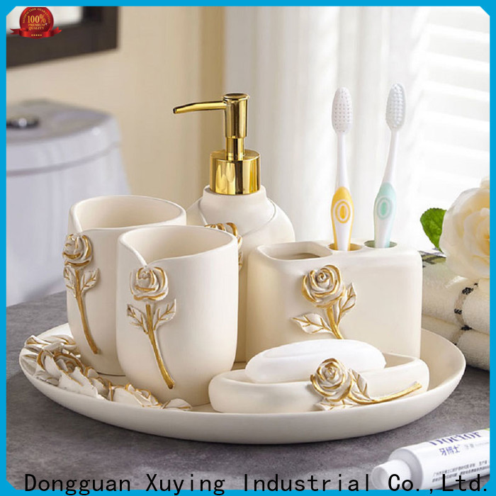 Xuying Bathroom Items white bathroom accessories set customized for bathroom