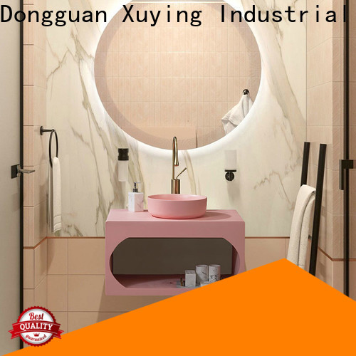 Xuying Bathroom Items fashion black and gold bathroom customized for home