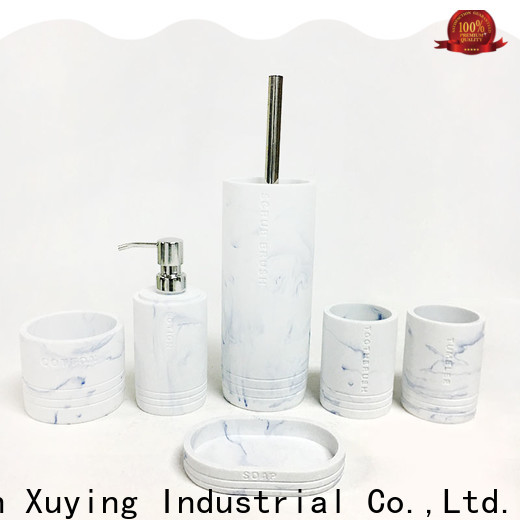Xuying Bathroom Items white bathroom accessories set manufacturer for bathroom
