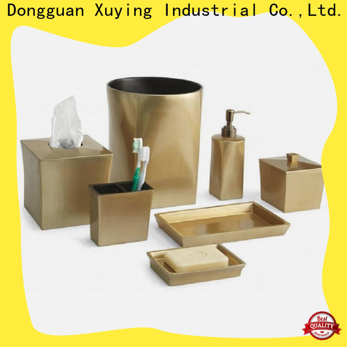 durable white bathroom accessories set customized for hotel