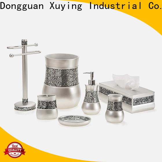 Xuying Bathroom Items durable black and white bathroom decor manufacturer for restroom