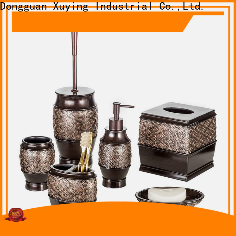 elegant black bathroom accessories set manufacturer for bathroom