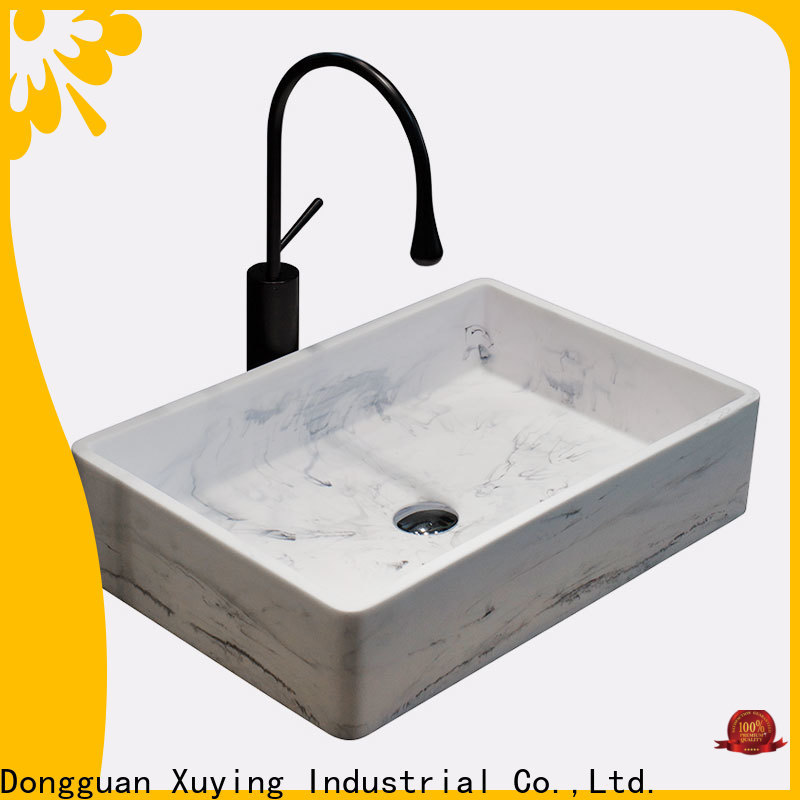 Xuying Bathroom Items reliable concrete basin supplier for restroom