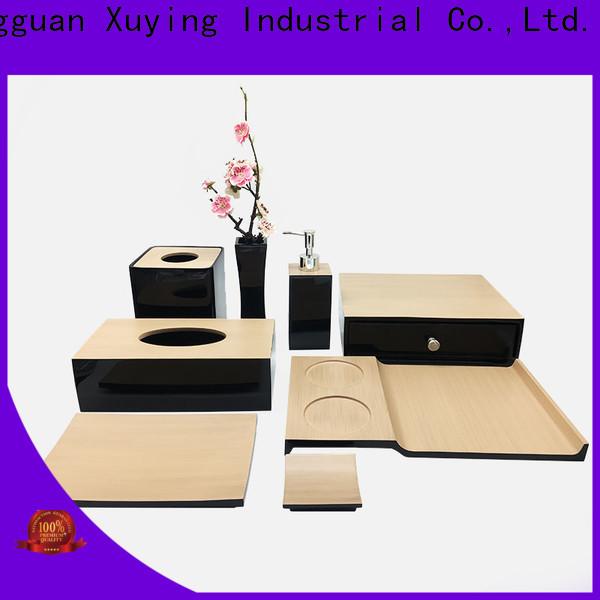 Xuying Bathroom Items elegant matte black bathroom accessories design for home