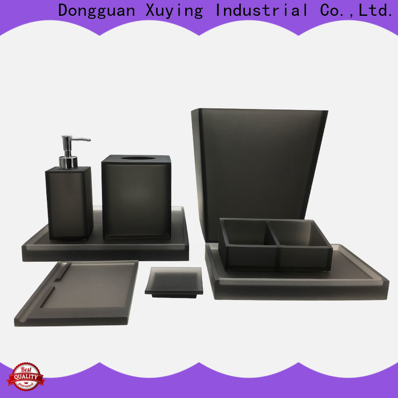 hot selling black bathroom accessories factory price for bathroom