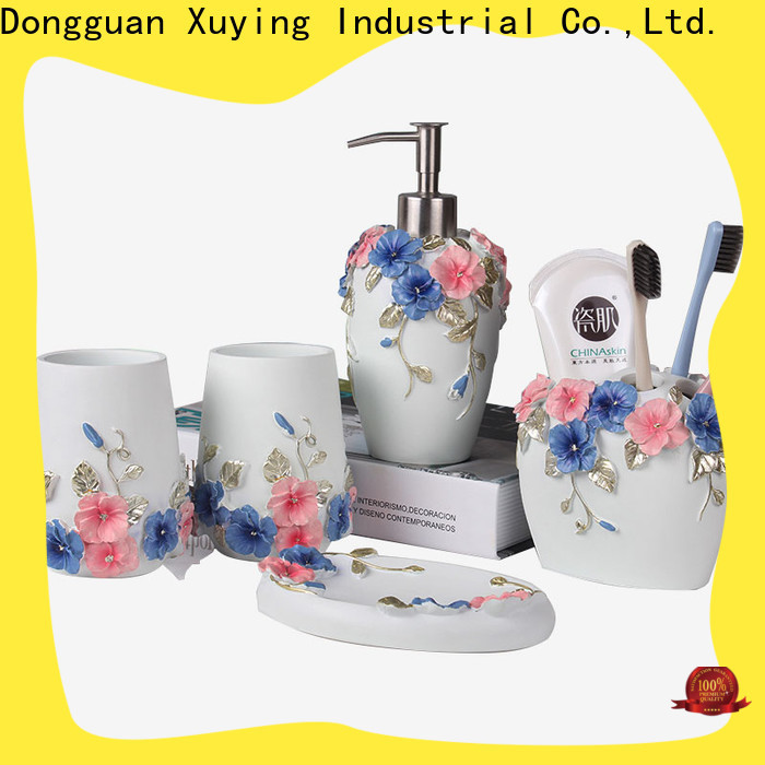 Xuying Bathroom Items rose gold bathroom set customized for home