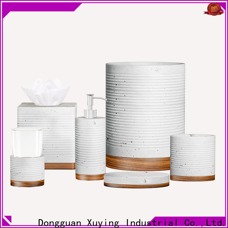 Xuying Bathroom Items wooden bathroom accessories manufacturer for restroom