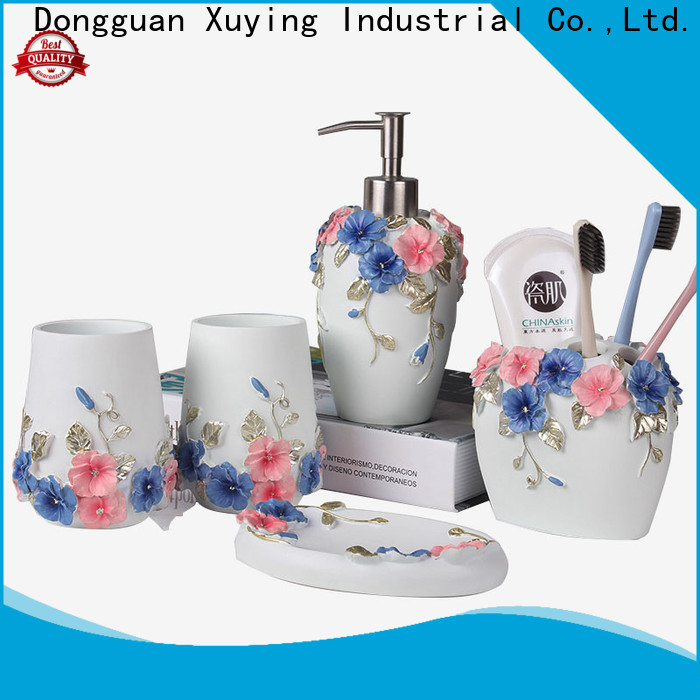 Xuying Bathroom Items white bathroom accessories set on sale for bathroom