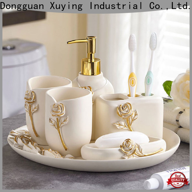 Xuying Bathroom Items white bathroom accessories set customized for home