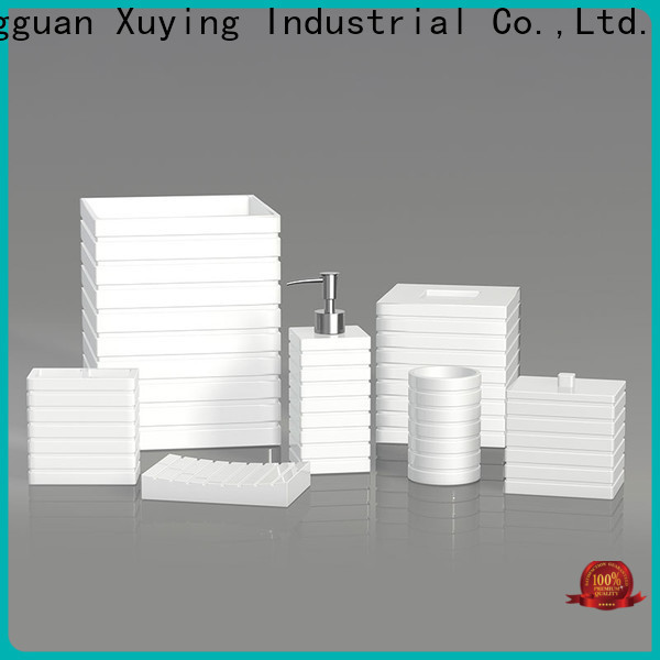 Xuying Bathroom Items white bathroom accessories set customized for hotel