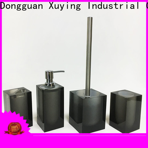 hot selling black bathroom accessories personalized for home