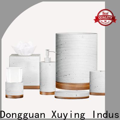 Xuying Bathroom Items elegant rose gold bathroom set wholesale for hotel