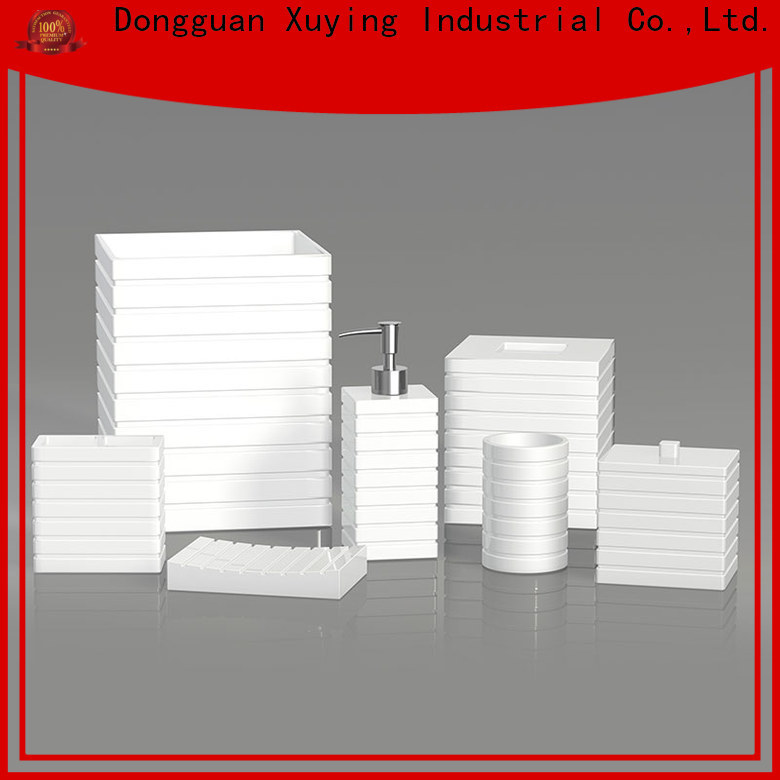 Xuying Bathroom Items black and white bathroom accessories manufacturer for restroom