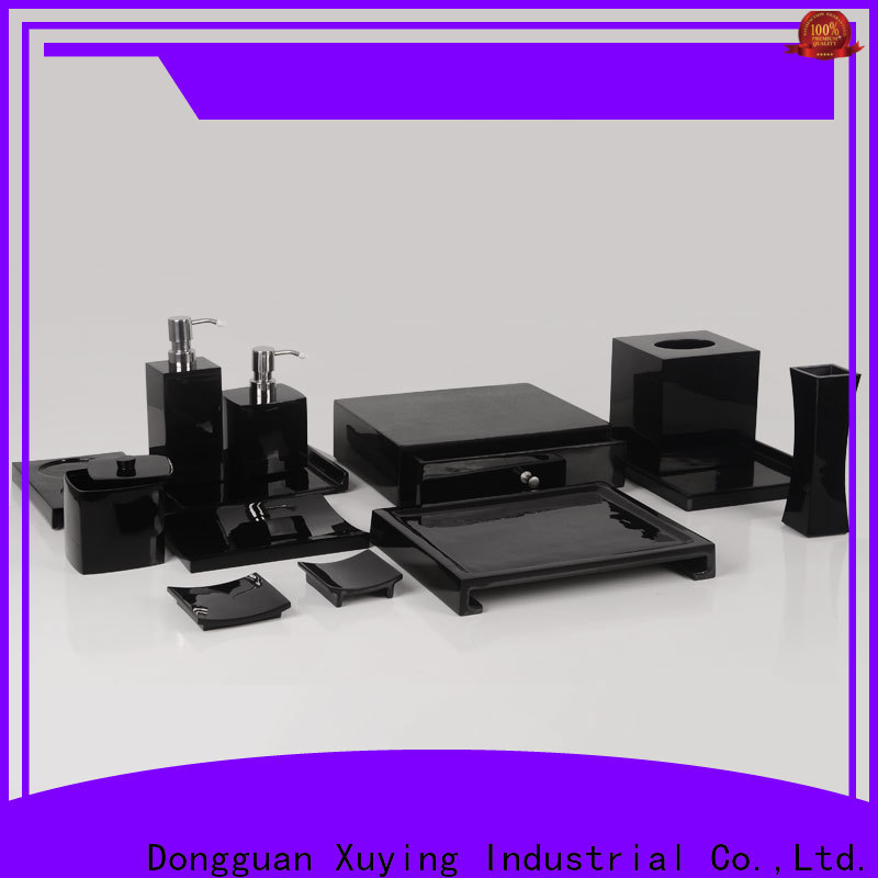 Xuying Bathroom Items matte black bathroom accessories with good price for hotel