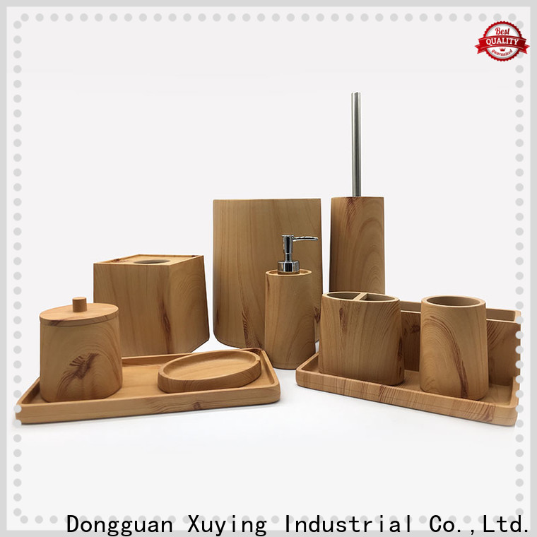 Xuying Bathroom Items black and gold bathroom wholesale for hotel