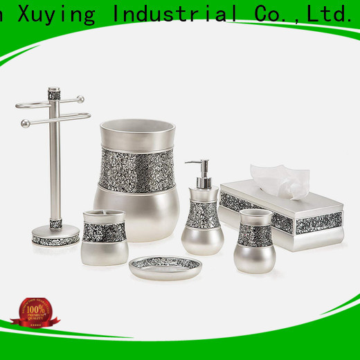 Xuying Bathroom Items fashion black bathroom sets manufacturer for bathroom