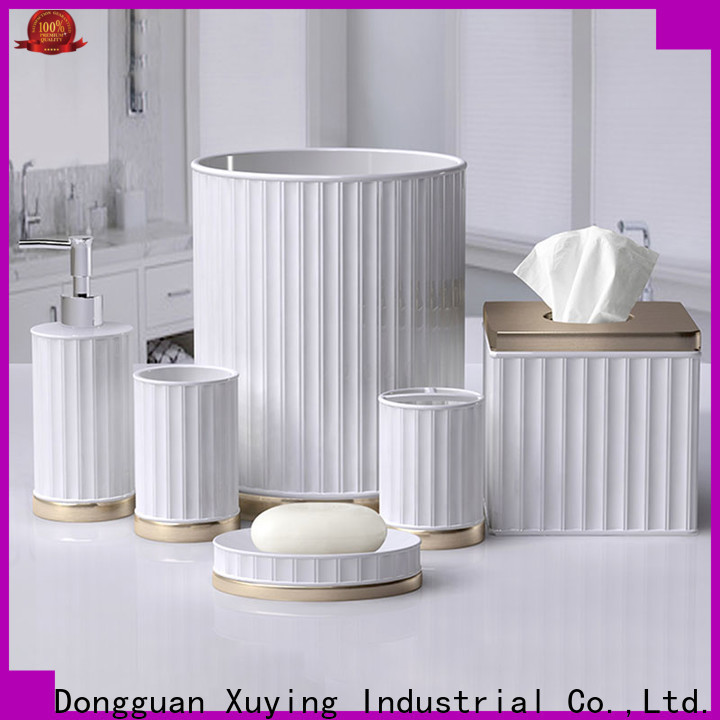 Xuying Bathroom Items hot selling ceramic soap dish design for restroom