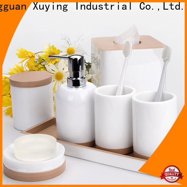 Xuying Bathroom Items luxury bath accessories with good price for hotel