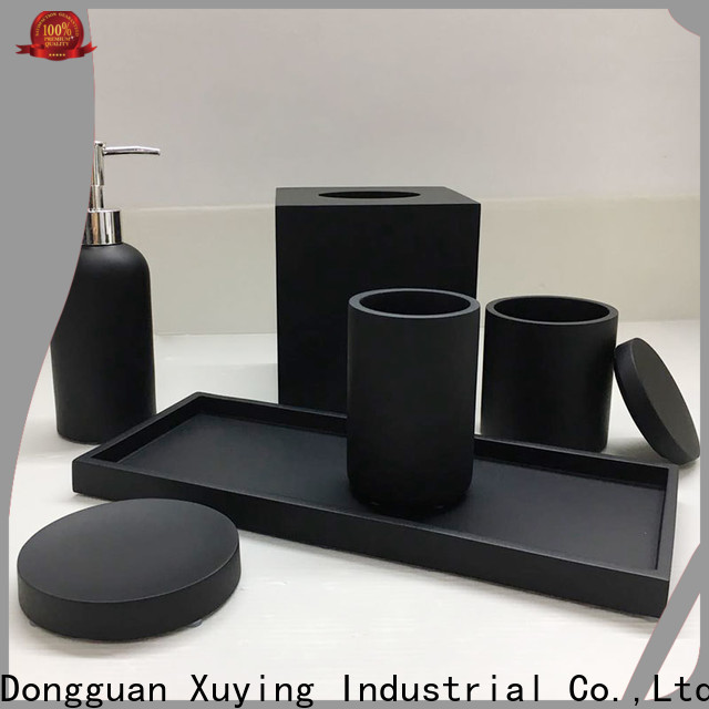 modern white bathroom accessories set customized for hotel