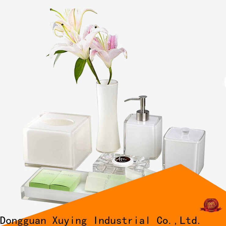 practical luxury bathroom accessories sets factory price for hotel