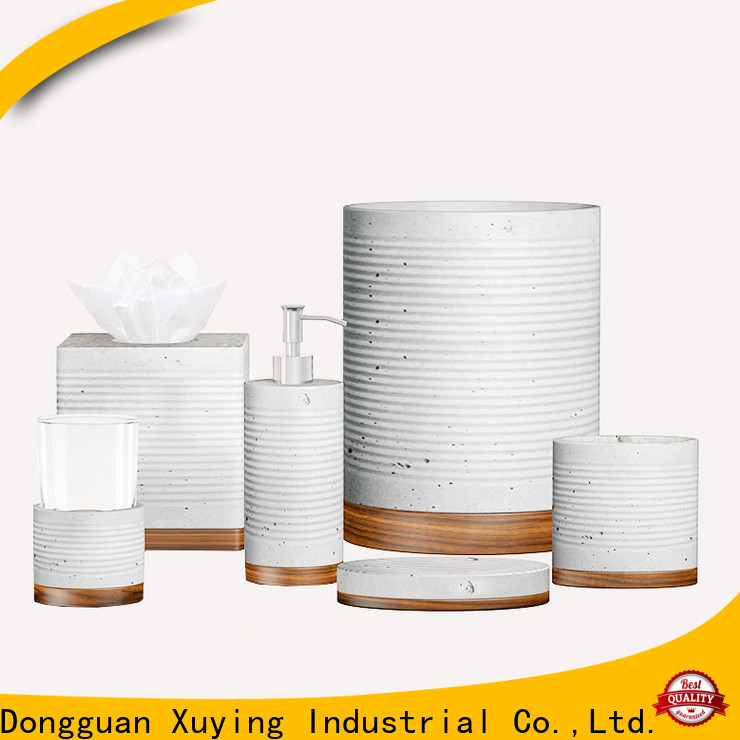 Xuying Bathroom Items elegant gold bathroom accessories set manufacturer for restroom
