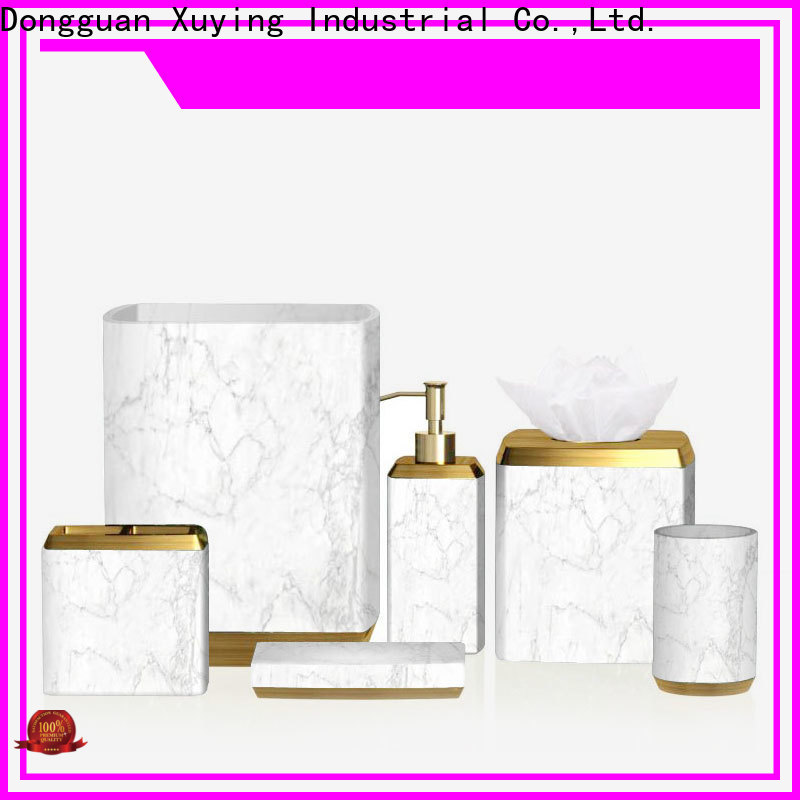 Xuying Bathroom Items elegant black and white bathroom accessories manufacturer for home