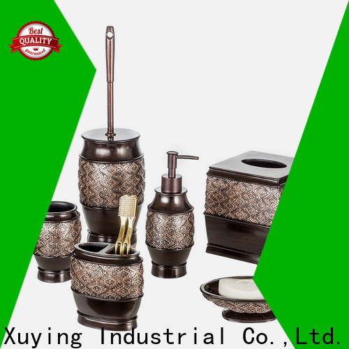 Xuying Bathroom Items black and white bathroom accessories customized for restroom