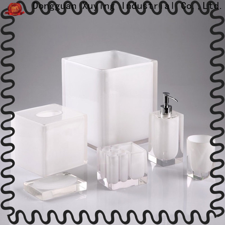 quality black bathroom accessories factory price for hotel