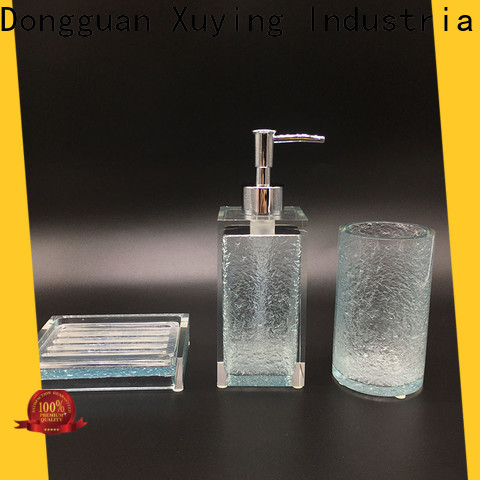 Xuying Bathroom Items hot selling grey bathroom accessories personalized for hotel